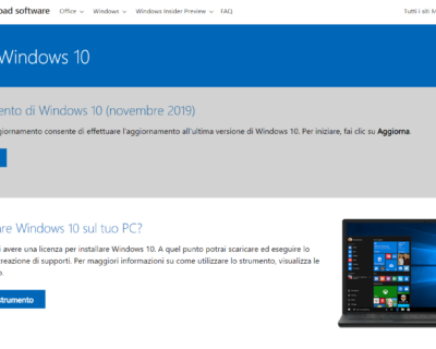 Come installare o ripristinare Windows 10