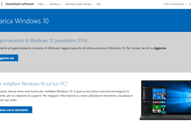 Come installare o ripristinare Windows 10