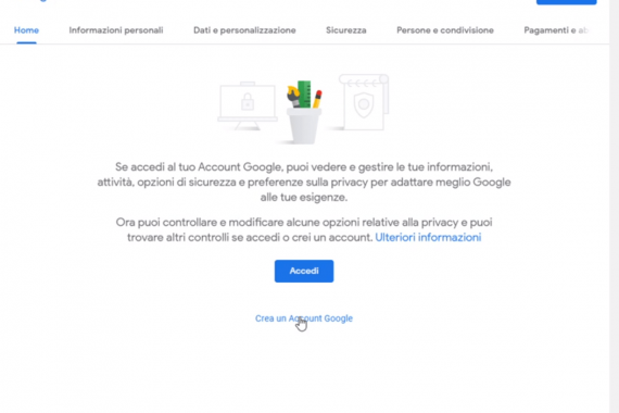 Come si crea un account Google e a cosa serve