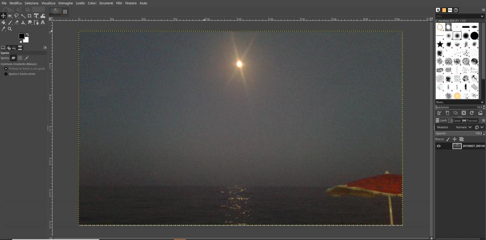Gimp, programma per modificare le foto