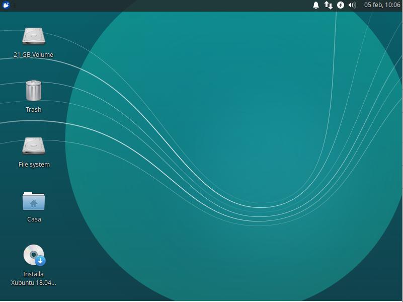Xubuntu per vecchi PC