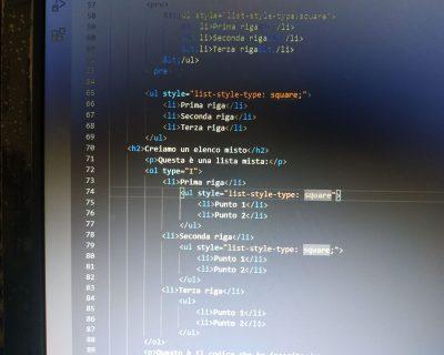Come creare un elenco o una lista in una pagina HTML
