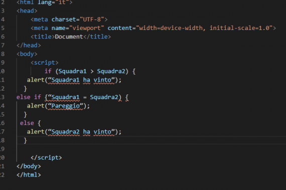 Le condizioni in JavaScript: cosa sono e come si usano