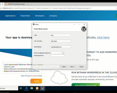 Installare WordPress sul proprio computer con Xampp