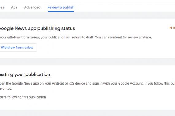 Inserire il proprio blog o sito su Google News