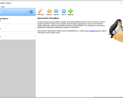 Come installare VirtualBox