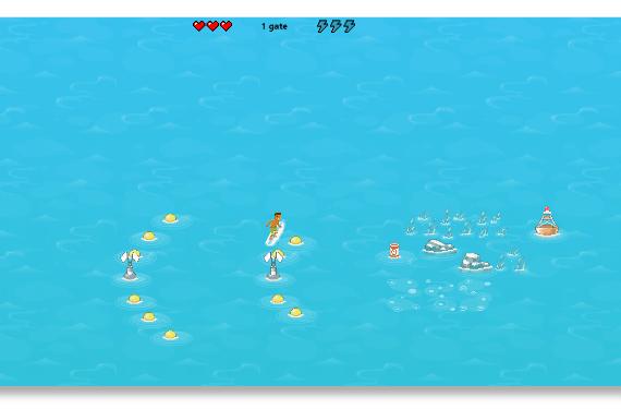 Surf game sul nuovo Edge