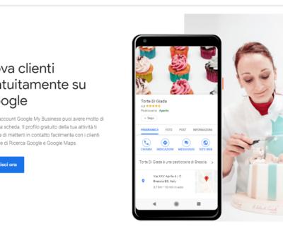 Aggiungere la propria attività in Google My Business