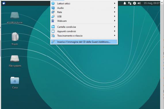 Installare le Extension Pack e le Guest Addition su VirtualBox