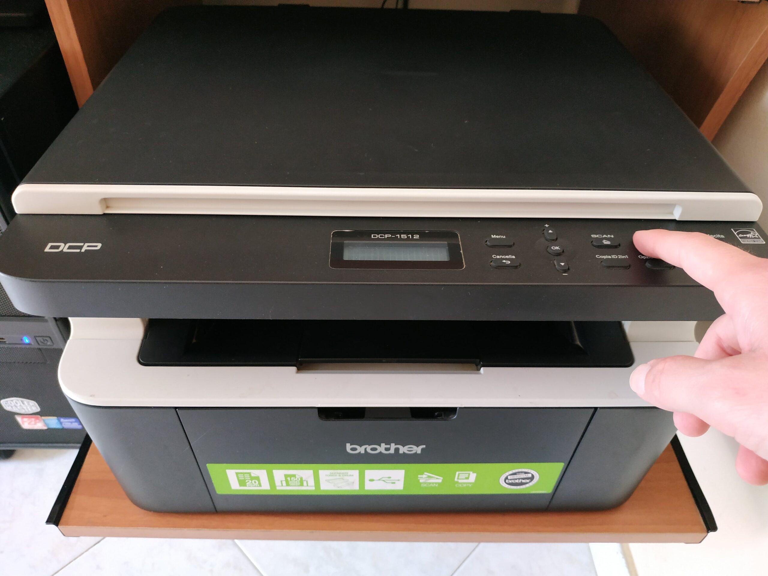Accendiamo una stampante