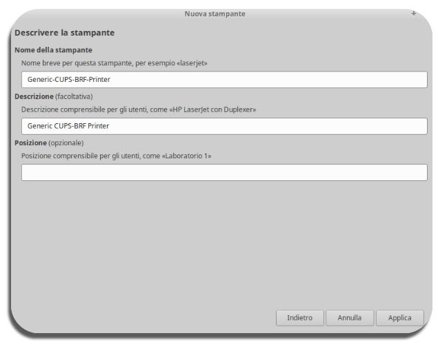 Aggiungere e installare una stampante su Ubuntu-7