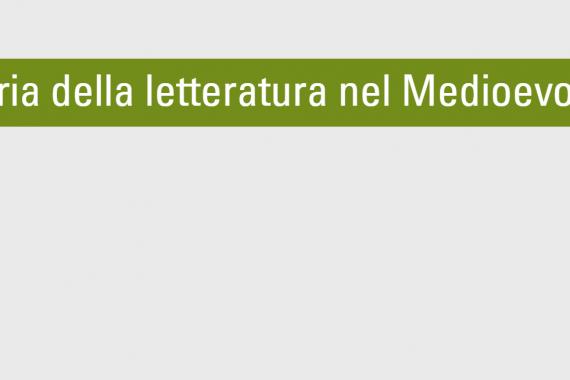 La storia della letteratura italiana nel Medioevo
