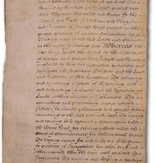 La monarchia costituzionale e parlamentare inglese