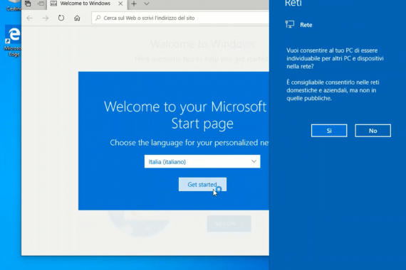 Configurare Windows 10 dopo averlo installato sul PC