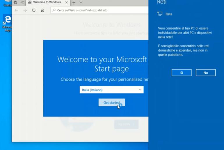 Configurare Windows 10 dopo averlo installato sul PC