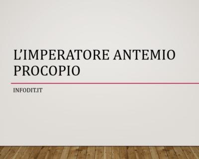 Antemio Procopio, imperatore romano d'Occidente