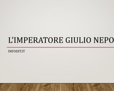 Giulio Nepote, imperatore d'Occidente