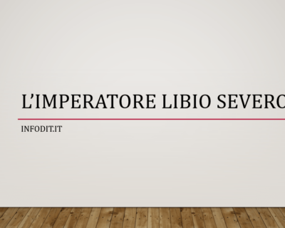 Libio Severo, imperatore romano