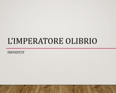Olibrio, imperatore romano