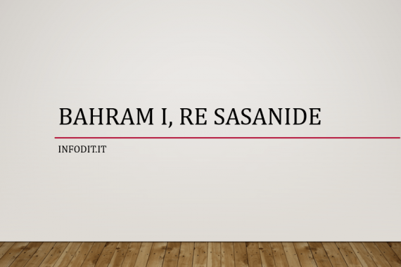 Bahram I, re Sasanide