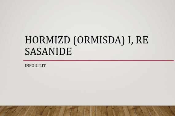 Hormizd I | Ormisda I