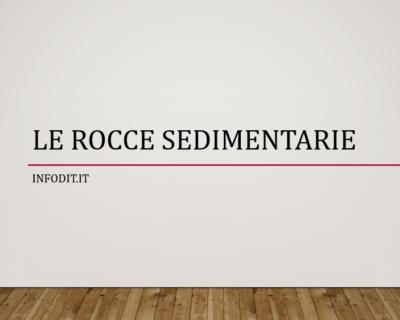 Rocce sedimentarie