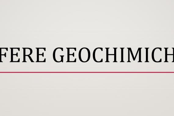 Sfere geochimiche