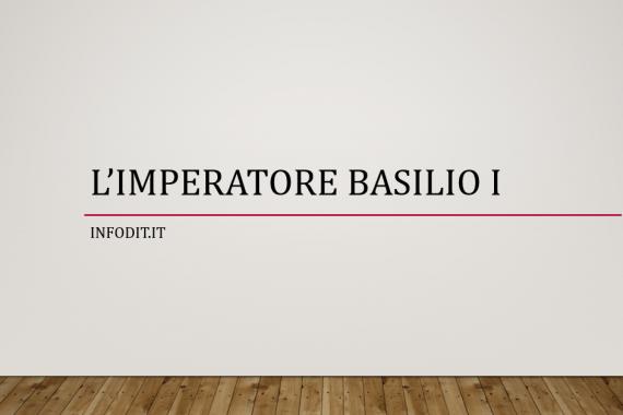 Basilio I il Macedone, imperatore bizantino
