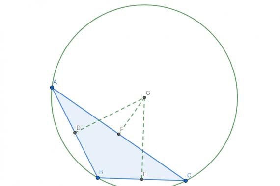 Circocentro di un triangolo ottusangolo