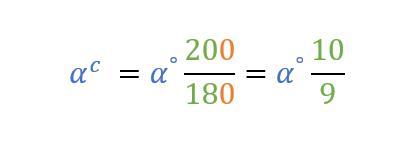 Conversione sessagesimali, decimali a centesimali