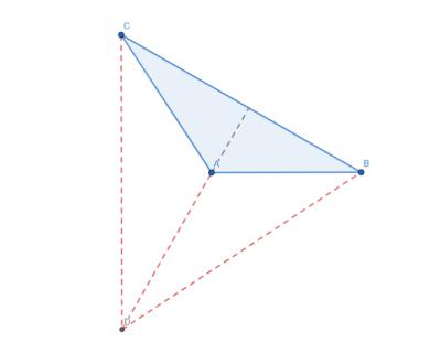 L'ortocentro di un triangolo ottusangolo