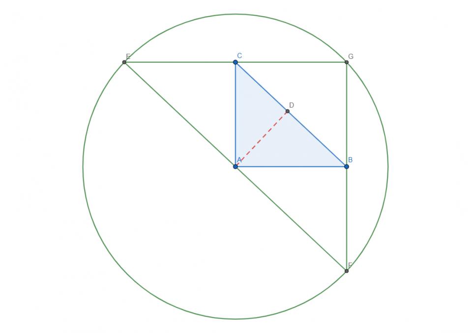 ortocentro triangolo rettangolo