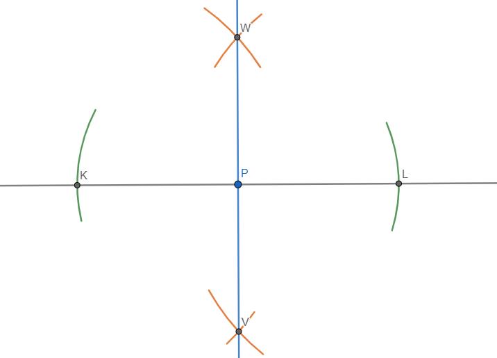 Trovare la perpendicolare a una retta passante per un suo punto