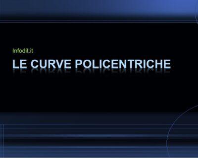Curve policentriche