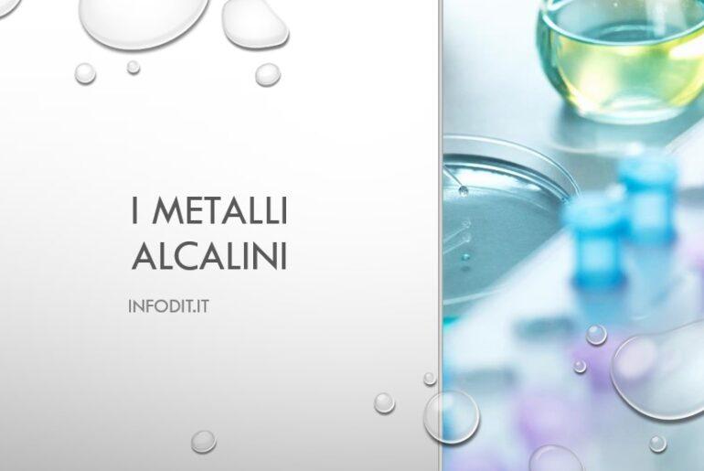 Metalli alcalini