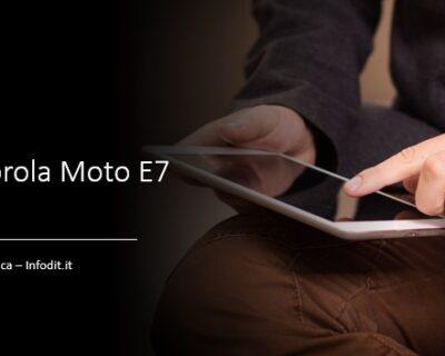 Motorola Moto E7 Plus: scheda tecnica