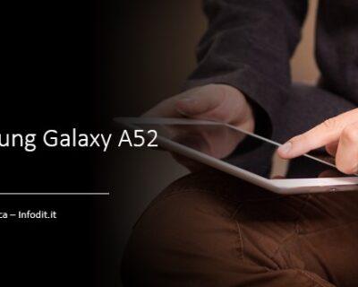 Samsung Galaxy A52 5G: scheda tecnica