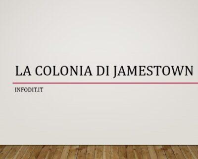 La colonia di Jamestown