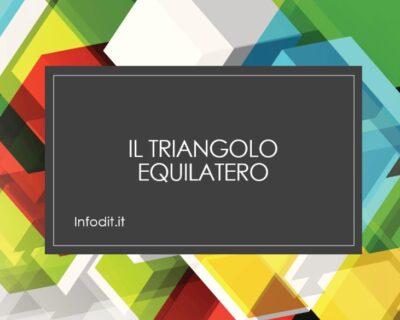 Triangolo equilatero