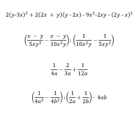 Esercizi sui polinomi