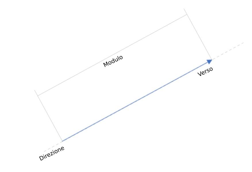 vettore: modulo, direzione e verso
