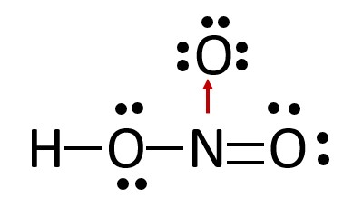 legame covalente dativo acido nitrico